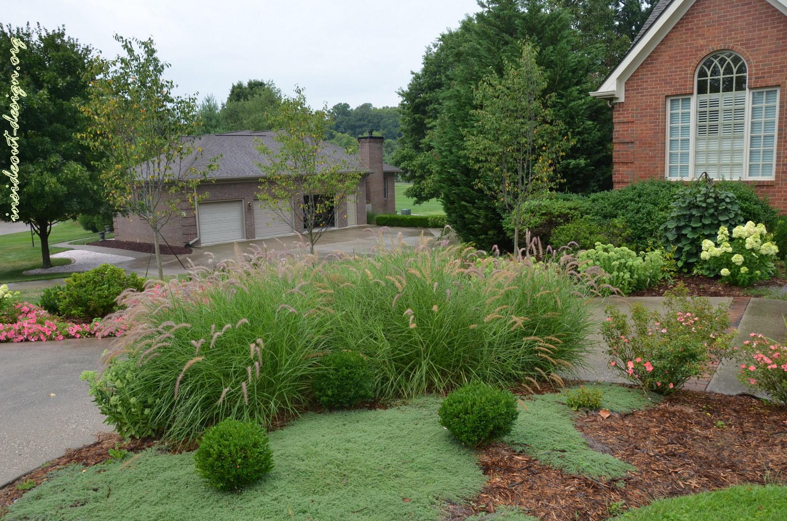 Front landscape renovation inside out design for Landscape renovations
