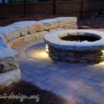 05-Fire Pit and Sitting Wall