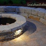 06-Fire Pit and Sitting Wall