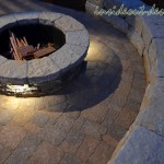 07-Fire Pit and Sitting Wall