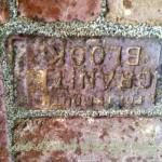 10-Reclaimed brick engraving