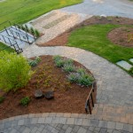 Belgard pavers: Urbana and Eco-Dublin and permeable pavers in the driveway.